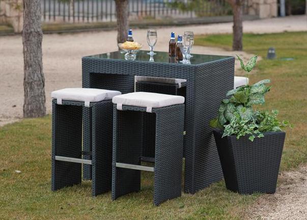 Decora tu jardín con un fabuloso bar