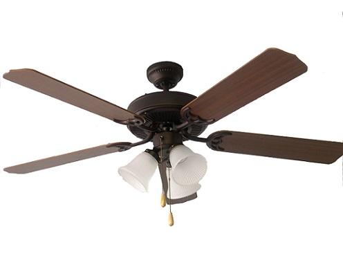 Los útiles ventiladores de techo