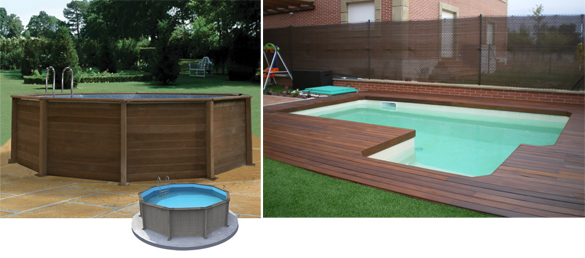Los beneficios de las piscinas de madera decoracion del for Piscinas de madera