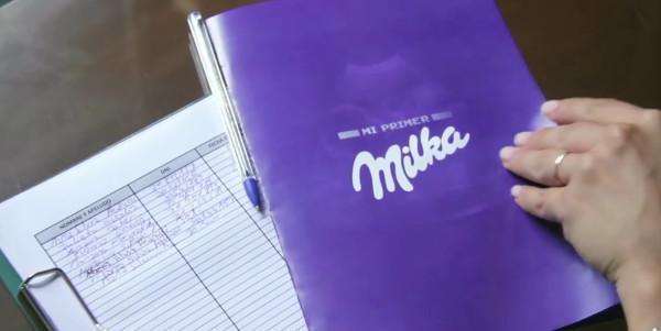 Comparte el chocolate Milka desde el primer momento