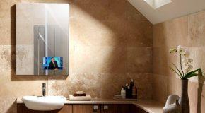Miralay, el espejo de diseño que se convierte en televisor