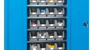 ¿Cómo ahorrar espacio con armarios metálicos de seguridad?